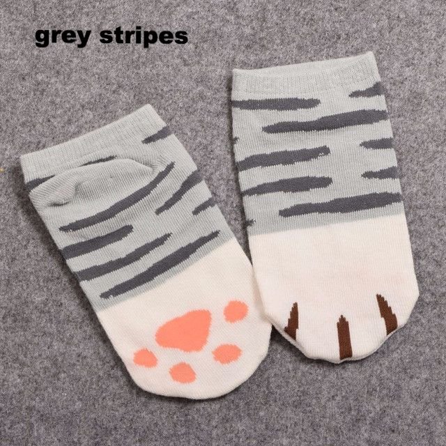 40% OFF TODAY ONLY - JUST PAY $5,95 GET MORE PAIRS AND SAVE $$$! You would love to pair your tiny toes up with these absolutely Cute Cat Claw Ankle Socks that w