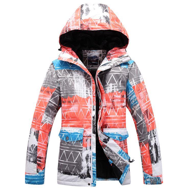 Gsou Snow Professional Men's Ski Jacket Waterproof Windproof Snowboarding Snow Skiing Coats Winter Warm Outdoor Sport Clothing #Affiliate
