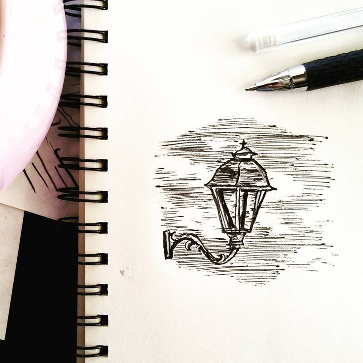 """16 Likes, 3 Comments - Ellie Jenkins (@paperfortdesigns) on Instagram: """"Appropriate sketch for the weird Perth weather today. #moody #sketchbookpeek #sconce #illustration…"""""""