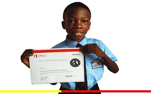 """...9-year-old Nigerian...became the world's youngest Microsoft Certified Specialists for MS office word 2010...."""