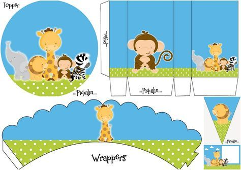 Lovely Jungle Babies Free Printable Mini Kit Free Baby
