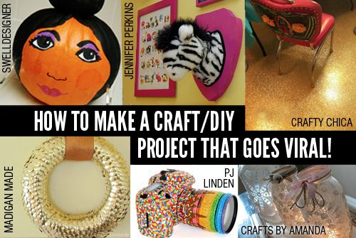 Have you ever wondered how to make your next craft post go viral? Alexa over at The Sweet Life has compiled a list of tips and tricks to help you make your next post one of internet stardom!Blog Tutorials, Crafts Diy Projects, Diy Howto, Crafts Projects, Viral Crafts Diy, Craftdiy Projects, Crafts Business, Diy Viral, Diy Stuff