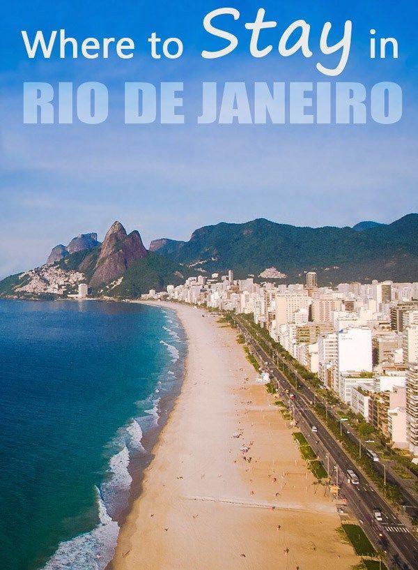 Where to stay in Rio de Janeiro, Brazil? - Renata Pereira