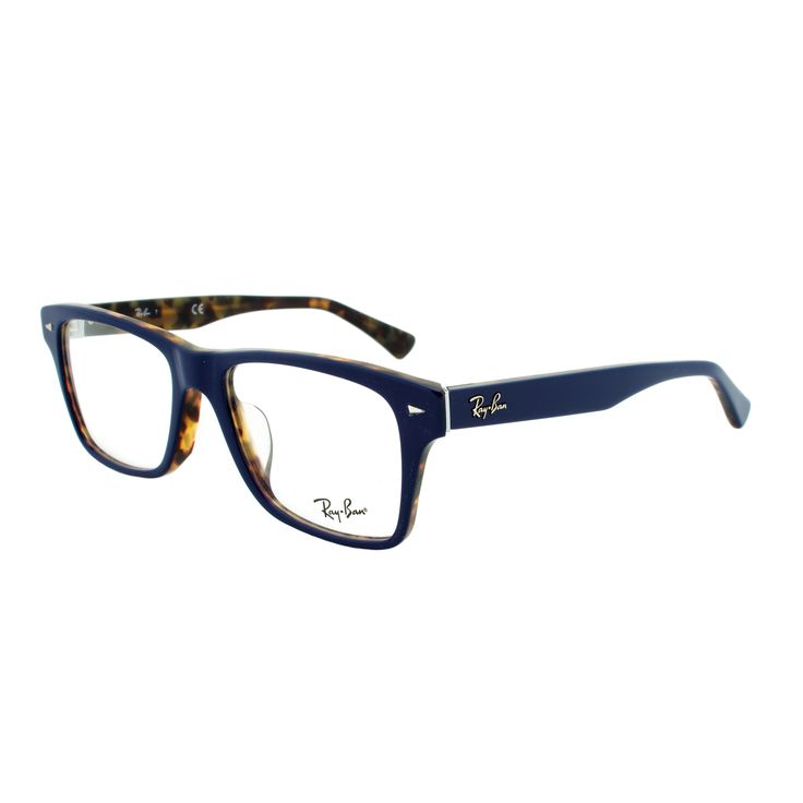 If you desire a look which stands out as contemporary, while retaining the  vital elements of a classic design, the Ray-Ban RX 5219 Soft Square  Eyeglass ...