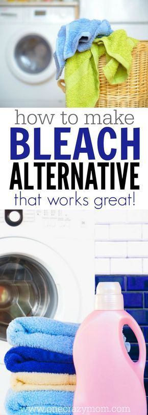 Never worry about chemicals again and make your own homemade bleach alternative. It's so inexpensive to make and very simple. You will love it!