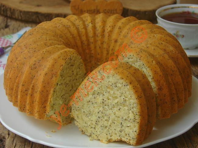 Haşhaşlı Limonlu Kek Resimli Tarifi - Yemek Tarifleri