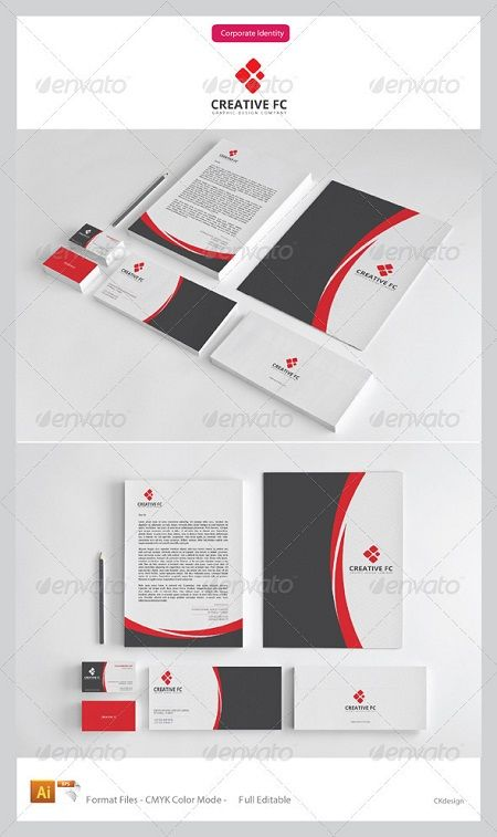 GraphicRiver Creative FC Corporate Identity Package 3538413