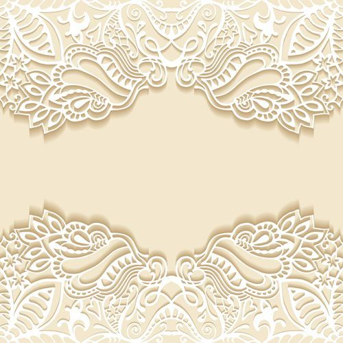 61 best vector images on pinterest frames airplanes and baby white lace with colored background vector set 06 invitation stopboris Image collections