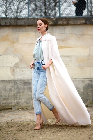See the best street style looks from Paris Fashion Week: Ulyana Sergeenko