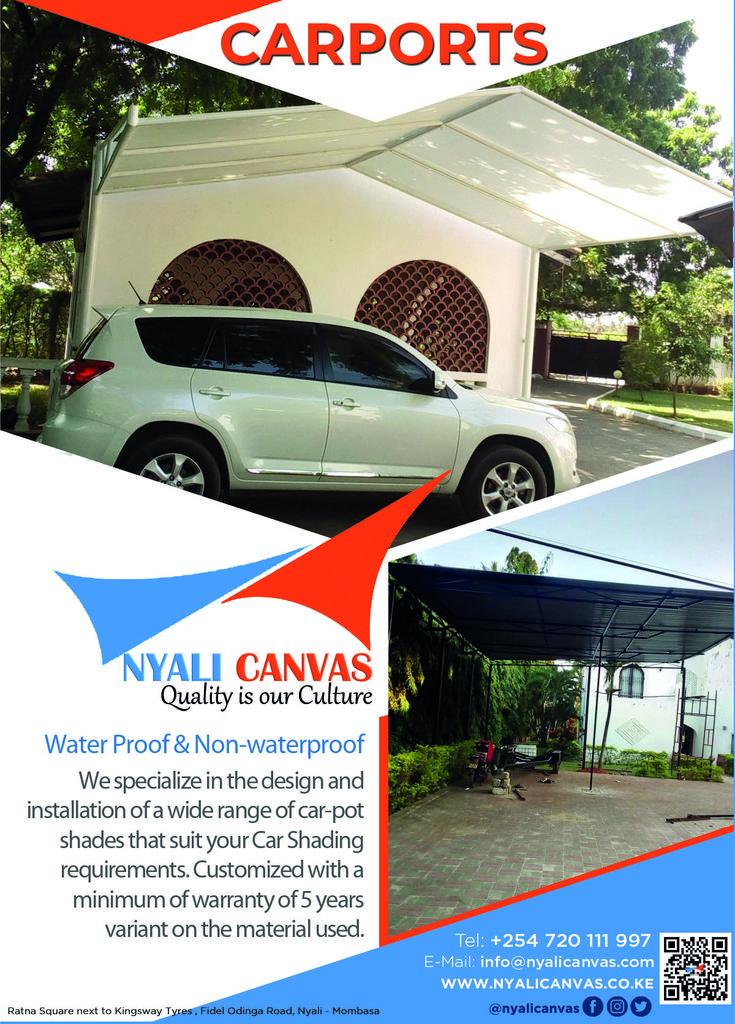 CARPORTS Water Proof & Nonwaterproof Shade sail