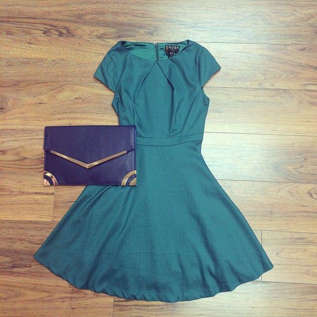 Vanity Inverurie @vanityinverurie Instagram photos | Green Skater dress available in store now!