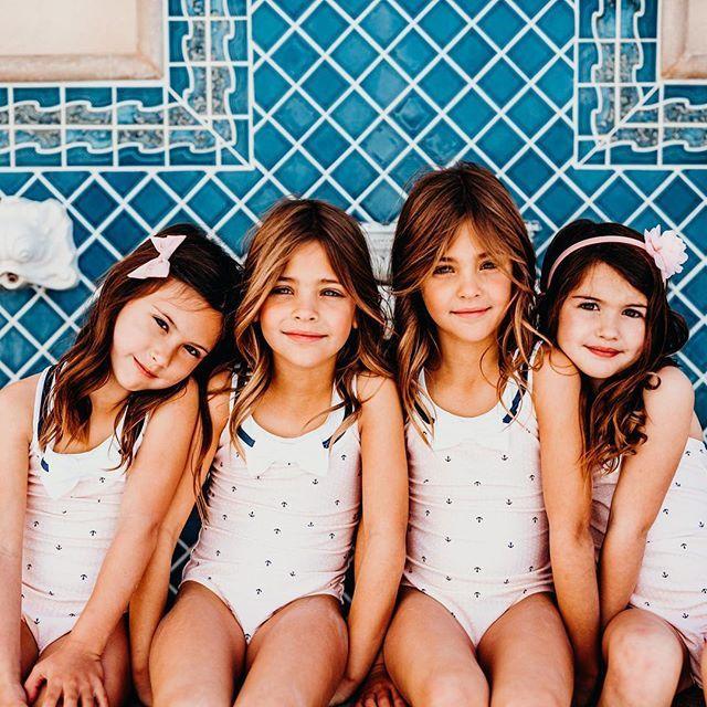 Naked teens identical twin little girls in bikinis