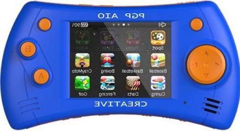 Игровая приставка Pgp Aio Creative 2.8 Touch + 100 игр синий оранжевый