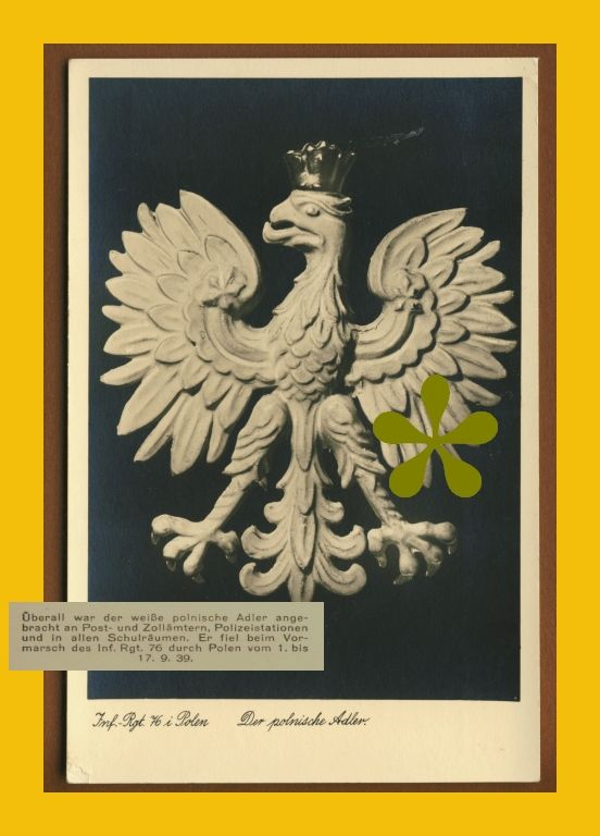 POLSKI ORZEŁ WRZEŚNIOWY wzięty do niewoli 1939