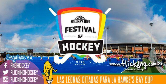 http://www.flicking.com.ar/las-leonas-citadas-para-la-hawkes-bay-cup/    Santiago Capurro dio a conocer la nómina de jugadoras que viajarán a Nueva Zelanda del 4 al 24 de abril. Allí disputarán la Hawke's Bay Cup y en la previa jugarán dos amistosos ante el seleccionado local. #Hockey #LasLeonas