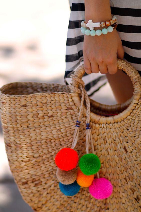 Capazos diy para ir a la playa #diy #manualidades #capazos #bolsos #originales…