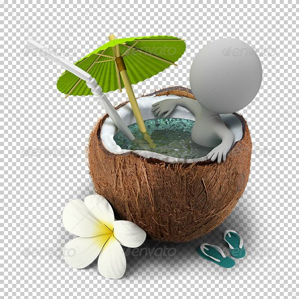 3D Small People Takes a Bath Coconut  #GraphicRiver         3d small person sitting in a coconut bath under an umbrella. 3d image. Transparent high resolution PSD with shadows. Alpha channel.     Created: 19September13 GraphicsFilesIncluded: PhotoshopPSD HighResolution: Yes Layered: No MinimumAdobeCSVersion: CS Tags: 3d #alpha #bath #channel #character #cocktail #coco #coconut #comfort #flower #guy #human #little #lux #luxury #man #people #person #recreation #relaxation #rest #small #thai…