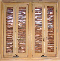 shutters!