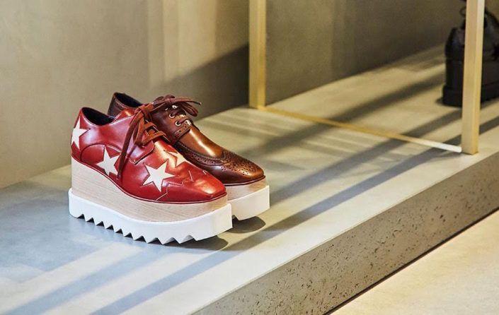 Stella McCartney's star studded platforms