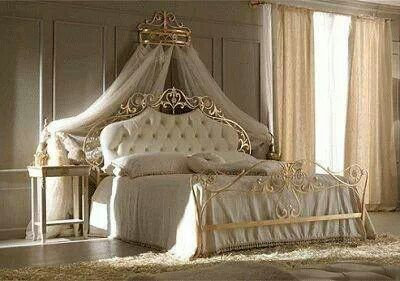 Bedroom fit for a queen home decorating pinterest bedrooms queen and fit - Contemporary canopy bed for a royal room ...