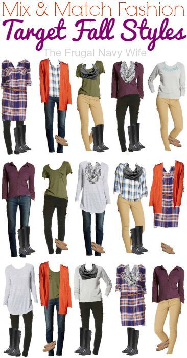 Mix and Match Clothing –  Target Fall Styles