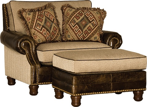 3949F40 F50 Chair u0026 Ottoman in Namaste Metal | Mayo Fabric Chairs | Pinterest  sc 1 st  Pinterest & 3949F40 F50 Chair u0026 Ottoman in Namaste Metal | Mayo Fabric Chairs ...