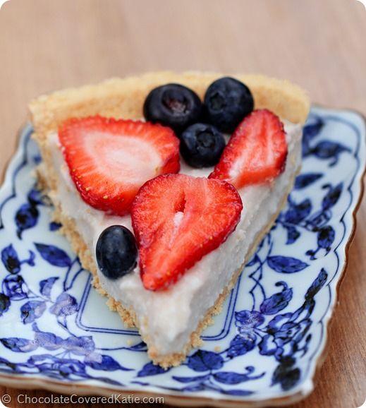 ... 30/light-summer-berry-yogurt-pie/ Food, Feet, Yogurt Pie, Greek Yogurt