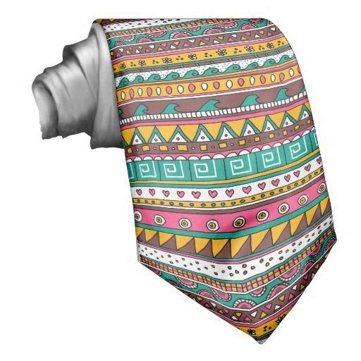 Colorful Tribal pattern Neck Wear