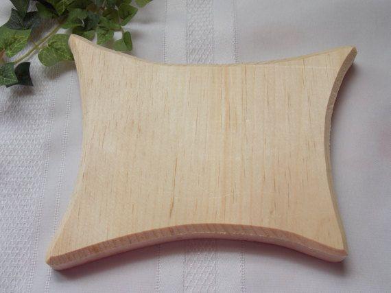 Rectangle Fancy Unfinished Wood Plaque by MumkenzGiftShop on Etsy