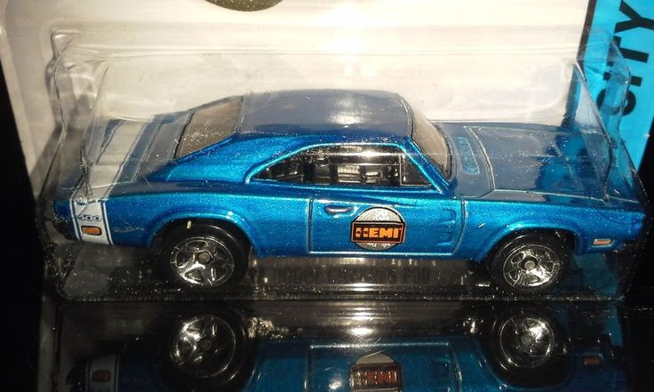Hot Wheels 2015 City 69 Dodge Charger 500 50 Years Of