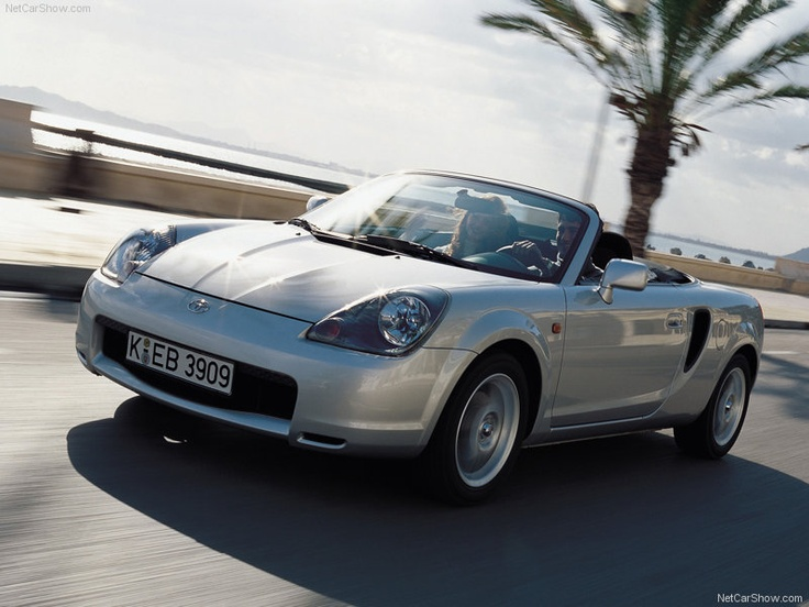 Toyota MR2 - An affordable lightweight sports car.