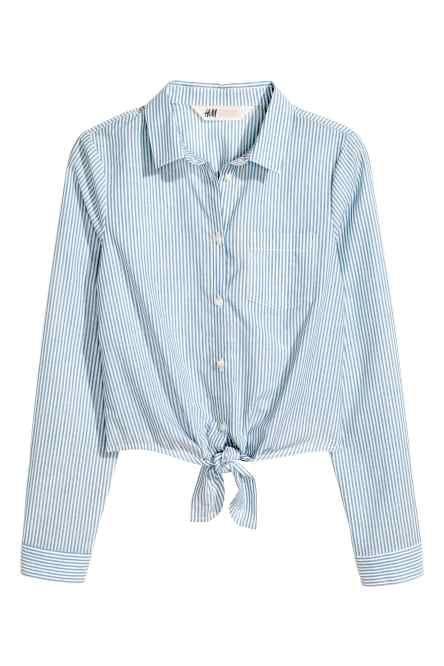 Блузка с узлом