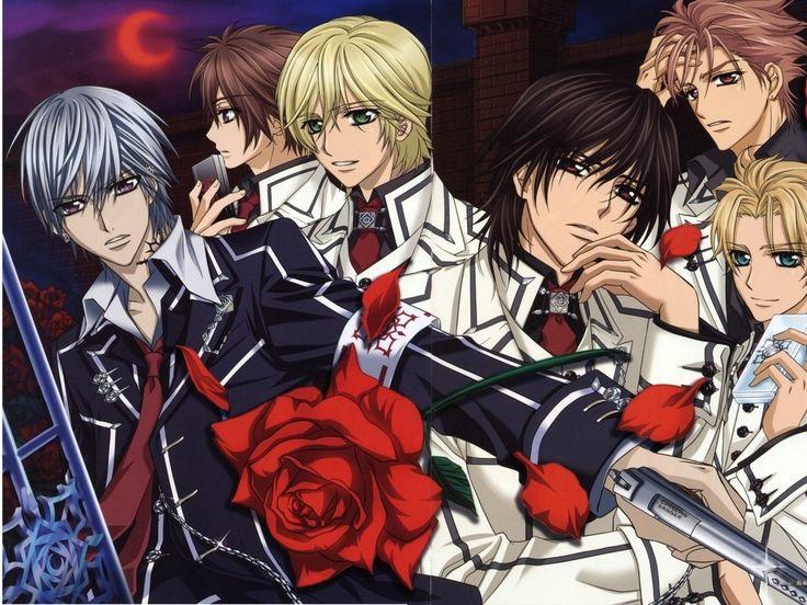 Zero kiryu Vampire knights, Vampire knight, Vampire