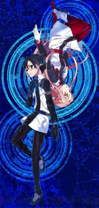 Kirito & Asuna on Sword Art Online The Movie Ordinal Scale coming soon in 2017