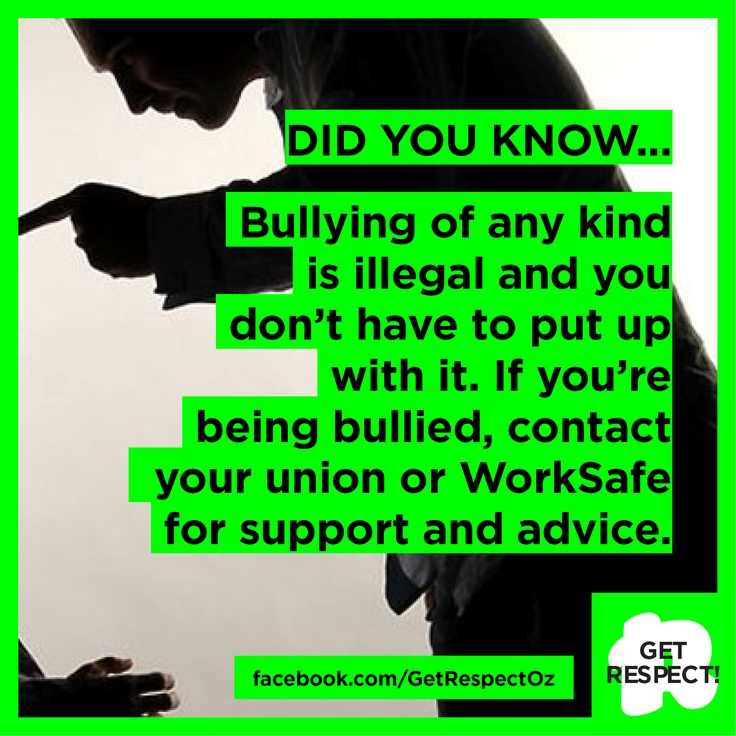 Guess what? Bullying is illegal - so don't put up with it.  For help and support, contact your union (if you're a member) or the government WorkSafe authority in your state.  Contact details can found here: http://www.safeworkaustralia.gov.au/sites/SWA