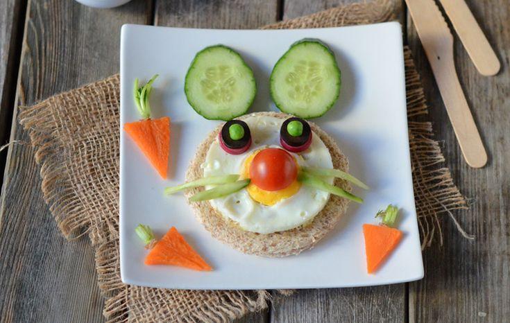 Lapin sandwich #recette #enfant