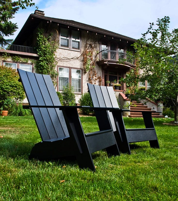 4 Slat Adirondack Chair, Available In Compact, Standard, And Tall. Also