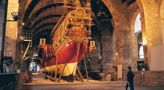 #Museu #Maritim is one of the more specialist #museums and covers the period 1750 to 1850. It includes many forms of #maritime #artefacts from #Barcelona and the surrounding districts. After visiting this #museum you may want to take a quick stroll to see #MiradordeColom (the giant #statue in honour of #Christopher #Columbus) and then on to #PortVell which is a picturesque walk across the #marina