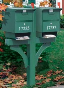 Multi-unit mailboxes or Commercial mailboxes, Satisfaction guaranteed!