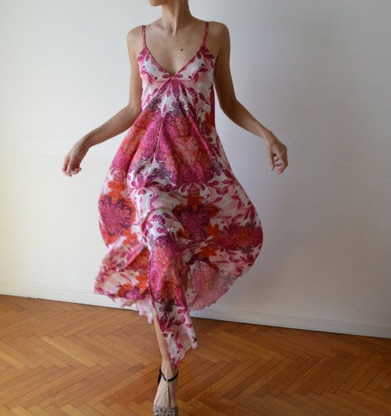 Backless maxi dress / long backless dress / by MuguetMilan on Etsy