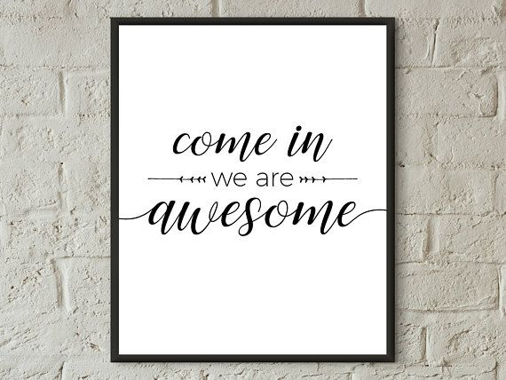 Home Decor Wall Arthome Print Quote Prints Downloadwelcome Etsy In 2020 Welcome Home Quotes Wall Decor Quotes Welcome Home Signs
