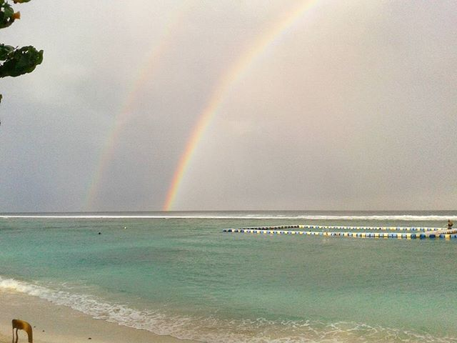 #two #rainbows #adjacent #to #each #other #beautiful #awesome #instapic #instamood #picoftheday