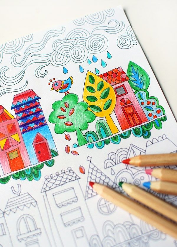 103 best Colouring Pages for Kids images on Pinterest | Coloring ...
