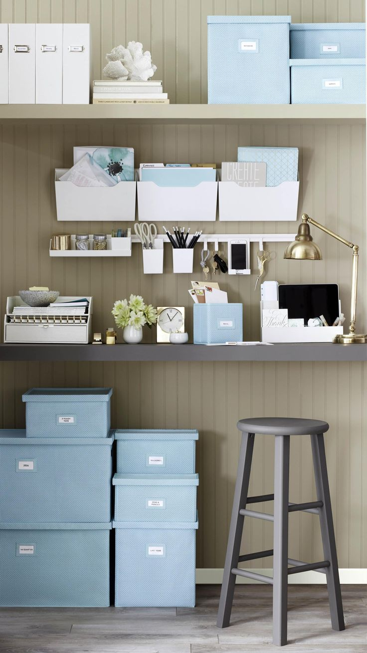66 Best Organizing Your Office Images On Pinterest