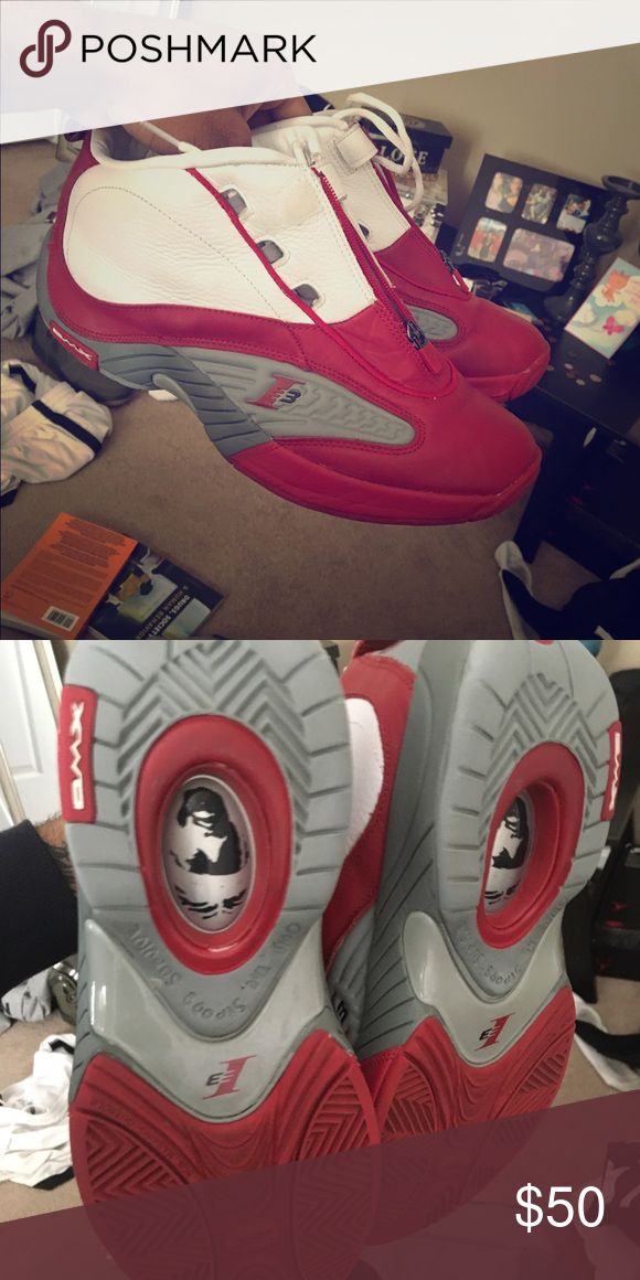 Allen Iverson Shoes❗️ Size 11 worn a few times in gym Nike Shoes Sneakers