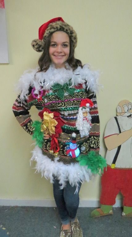 Best 25 Christmas Sweater Dress Ideas On Pinterest
