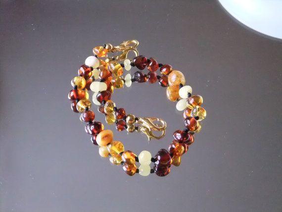 Baltic Amber Bracelet by BalticWonders on Etsy