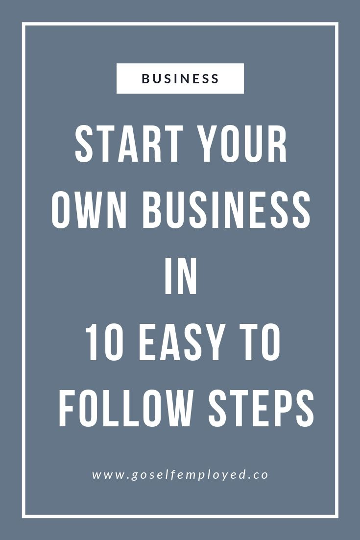 10 Step Guide To Registering As Uk Self Employed Start A