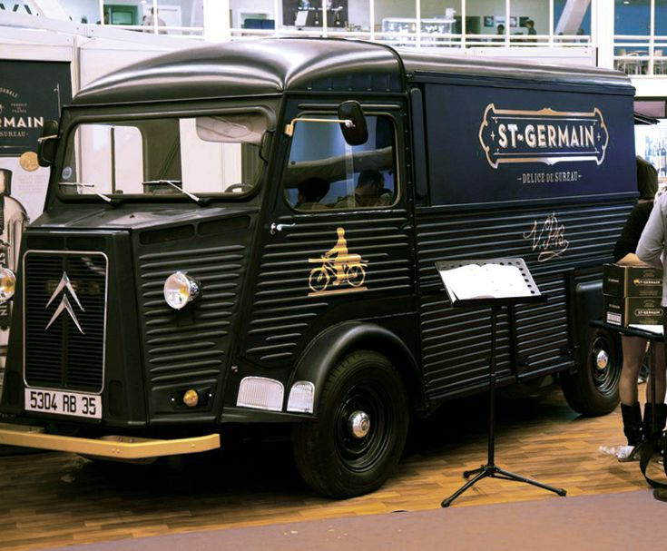 @Sam Veeck another reason why this is our favorite ;). St. Germain delivery truck // design by Sandstrom Partners.