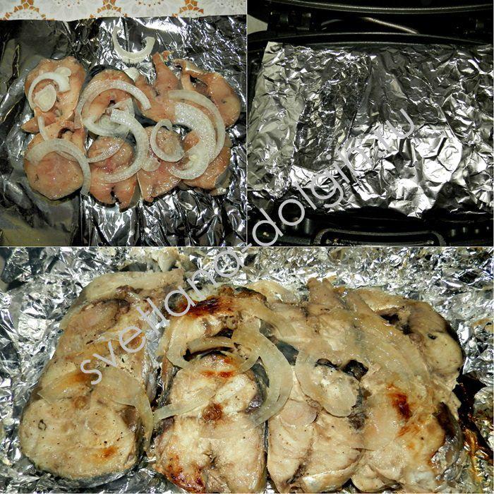 А вы пробовали на диете запекать скумбрию в фольге? Потрясающе простой и вкусный вариант на луковой подушке! http://svetlana-dolgih.ru/skumbriya-v-folge/